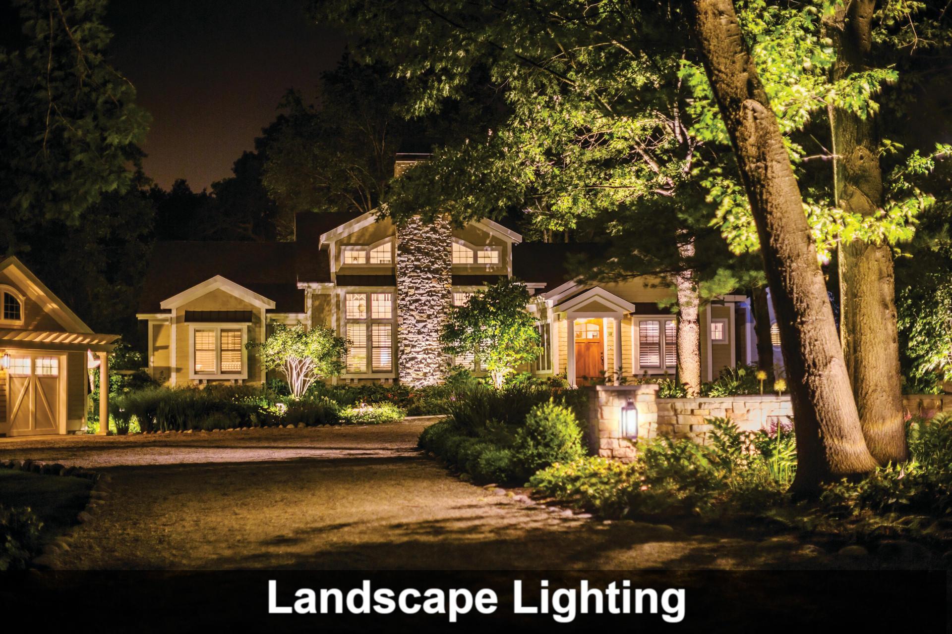 Landscape Lighting Design Installation And Maintenance